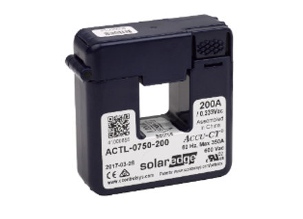 SolarEdge Electricity Meter CT SE-ACT-0750-200