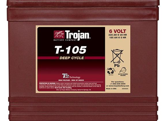 T-105 6V Trojan Deep Cycle Battery