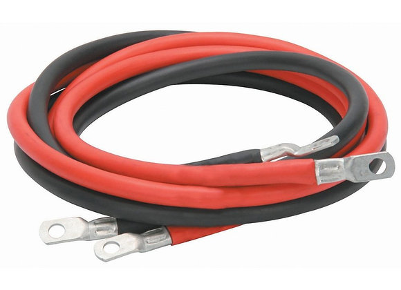 Inverter Cable #1 AWG - 4 and 6 Foot Lengths