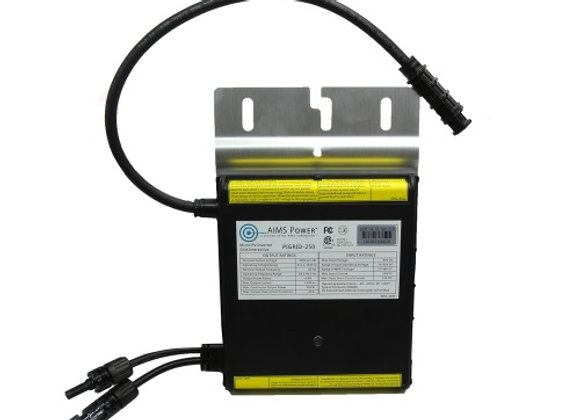250 Watt Micro Grid Tie Inverter with Cable