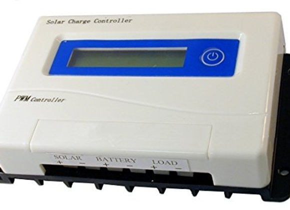 40 Amp 12/24 PWM Digital Solar Panel Charge Controller