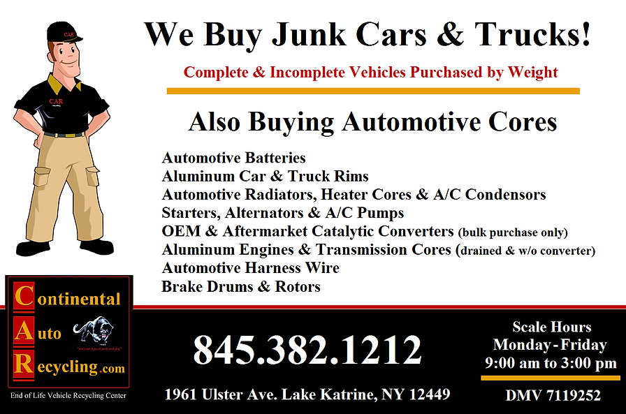 Scrap Automotive Cores