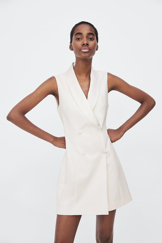 Image 2 of TUXEDO DRESS VEST from Zara