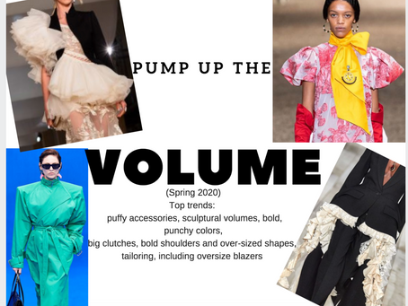 Voluminous Views into Spring 2020 Trends