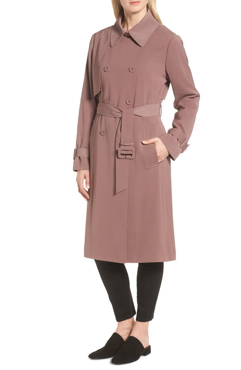Heritage Modern Trench Coat,                         Alternate,                         color, Adobe