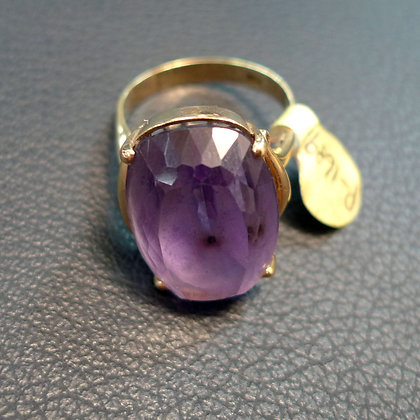 AMETHYST RING SIZE 10
