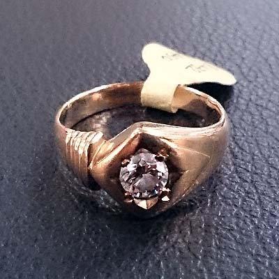 0.4 CT DIAMOND RING SIZE 7