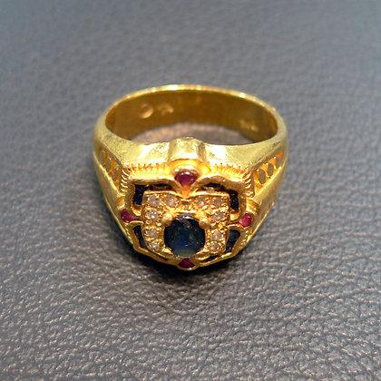 24K GOLD RING SIZE 9
