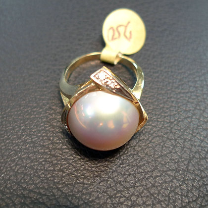 PEARL 14K GOLD RING SIZE 7.5