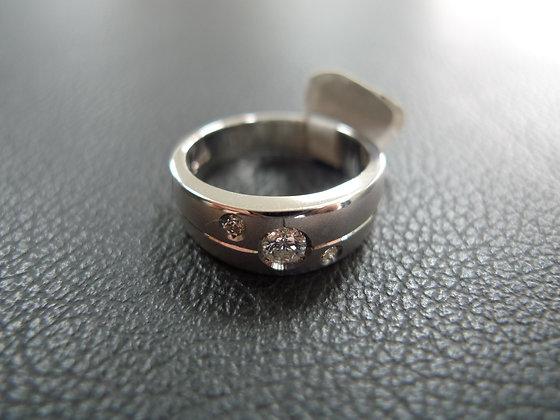 DIAMOND 0.25CT 14K WHITE GOLD SIZE 10