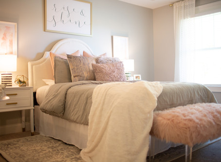 Teen Bedroom Reveal: Grown Up Glam