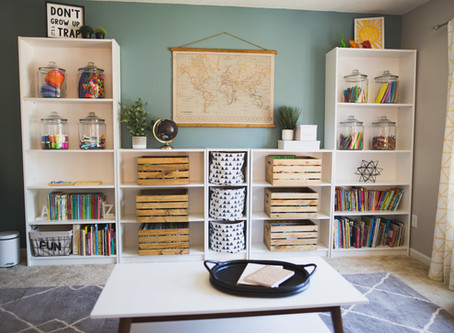 Mindfully creating a kid space