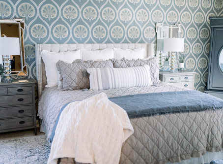 Master Bedroom Reveal: From Red To Radiant
