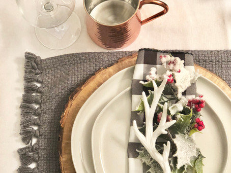 Tips for setting your Christmas table on a Target budget