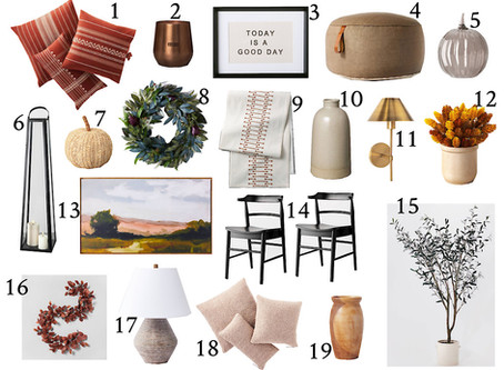 Target Must Haves || Fall Decor ||