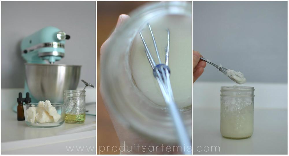 Beurre à massage aphrodisiaque recette signée Produits Artémis