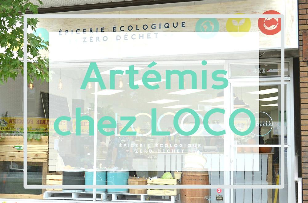 Artémis chez LOCO