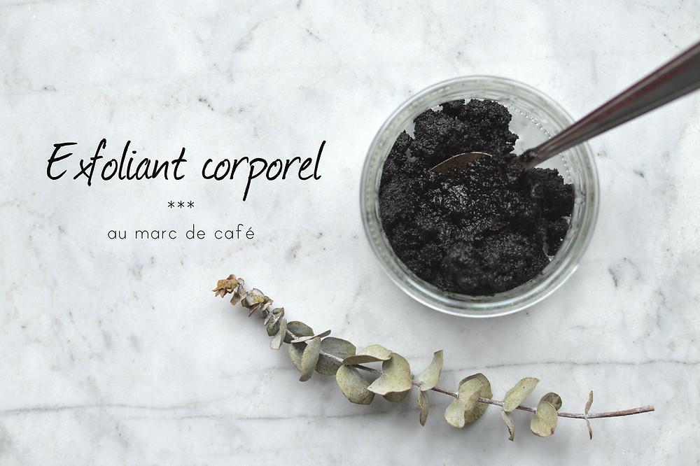 Exfoliant corporel au marc de café, recette signée Produits Artémis