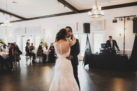 First dance at Riverwood Manor