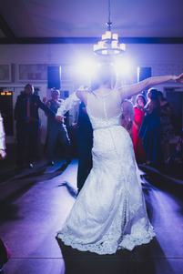 Bride Dancing to Music
