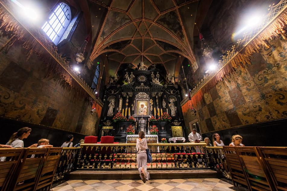 Kaplica Cudownego Obrazu Matki Bożej na Jasnej Górze w Częstochowie