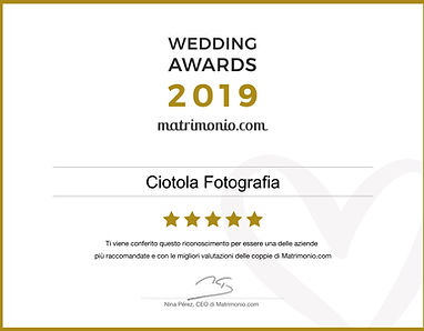 FOTOGRAFI MATRIMONI NAPOLI VINCITORI WEDDING AWARDS 2019 MATRIMONIO.COM