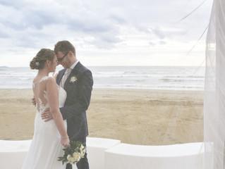 Wedding in spiaggia Manuela & Gabriele - Kanathè
