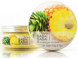 Body Cream Scrub Juicy Pineapple
