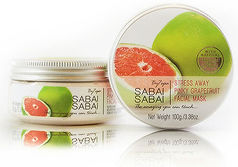 Fasial Mask Stress Away Pinky Grapefruit