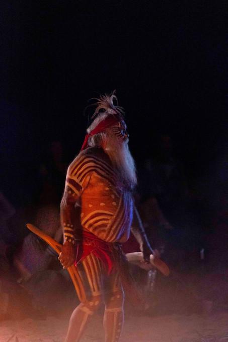 """Major """"Moogy"""" Sumner, Yaama Ngunna Baaka festival, 2019"""
