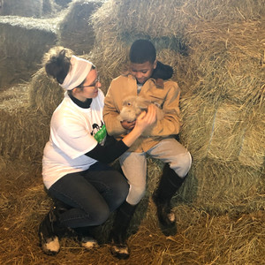 """Farm World, March 11, 2021 """"Therapeutic Farm Hopes To Provide Safe Environment For Children"""" Article By Celeste Baumgartner"""