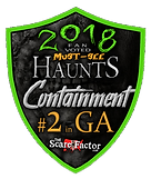 The Scare Factor award badge