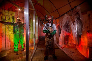 Containment Haunted House demented docto
