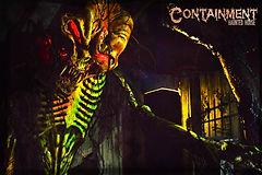 Containment Haunted House pumpkin creatu
