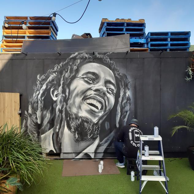 Bob Marley - One Drop Brewing Co. - Botany 3m x 2.6m - 2020