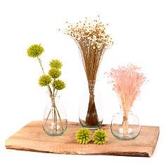 Découverte fleurs séchées