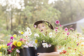 flower lady otr brand commercial photography