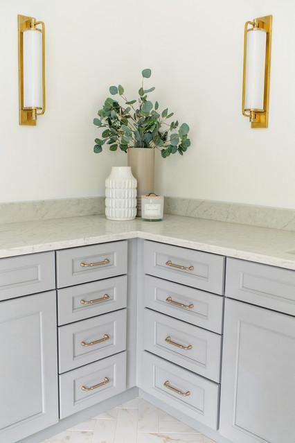 grey bathroom vanity photography