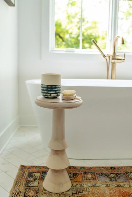 bishop design wood bathroom details