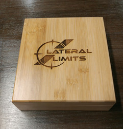 Stainless Steel Whiskey Stones in Bamboo Gift Box