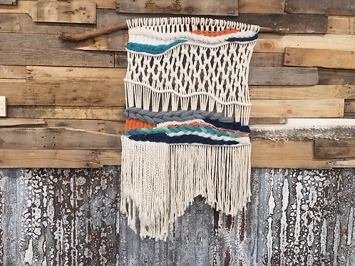 Handmade Unique Macrame Wall Hanging