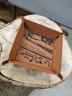 Leatherette Snap-up EDC trays