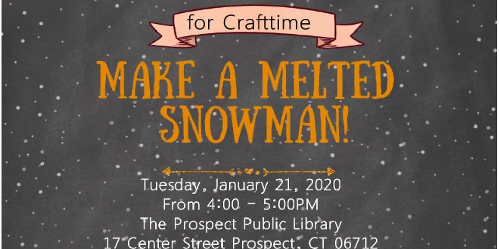 January Craftertime
