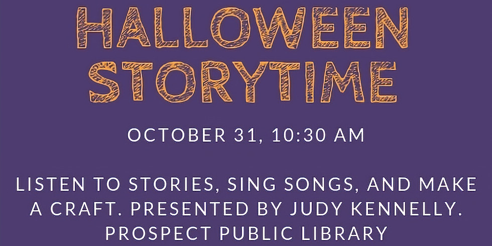 Halloween Story Time with Judy Kennelly