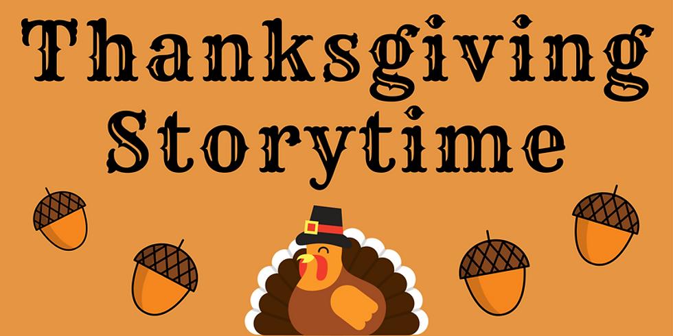 Thanksgiving Turkey Story Time & Craft (4+)