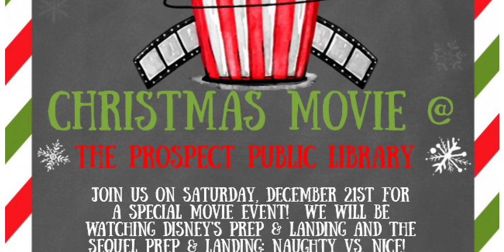 Christmas Movie at the Library!