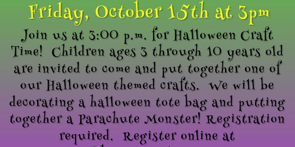 Children's Halloween Craft 2021
