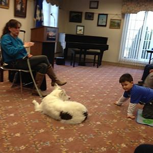 My Dog Kiefer Book Talk and Meet & Greet