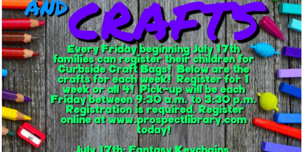 Summer Craft Bags: Summer Camp Keychains