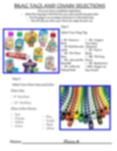 SRP 2020 Brag Tag and Chain Selection Sh